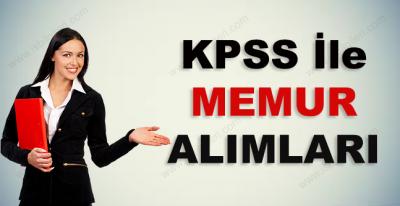 KPSS İle Memur Alımı