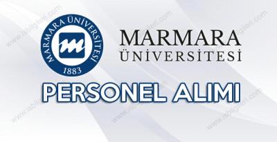 Marmara Üniversitesi 20 personel alımına başvuru şartları neler?
