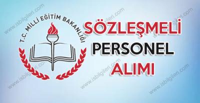 Milli Eğitim Bakanlığı sözleşmeli personel alımı giriş sınavı duyurusu