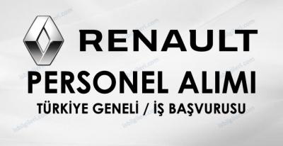 Renault Personel Alımı İş İlanı
