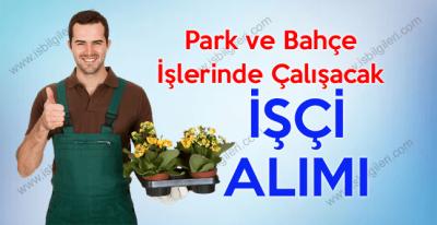 SDÜ Park ve Bahçe işinde çalışacak işçi alımı yapıyor