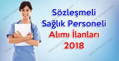 Sözleşmeli Sağlık Personeli Alımı İlanları 2018