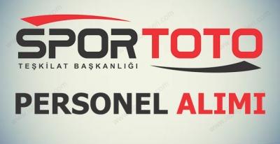 Spor Toto Teşkilatı Kamu Personeli Alımı
