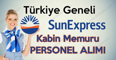 Sunexpress Uçuş Hostesi Kabin Memuru Personel Alımı iş ilanları 2017