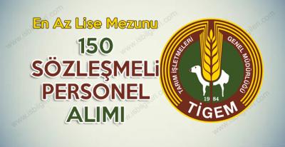 Tarım İşletmeleri Genel Müdürlüğü 150 Sözleşmeli Teknik Personel Alımı Sınavı Duyurusu