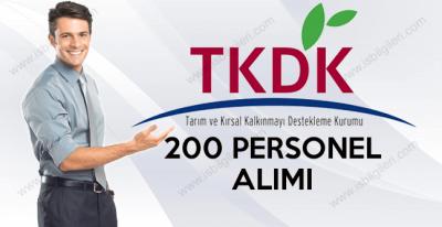 TKDK 200 Sözleşmeli Personel Alımı
