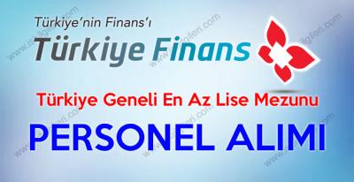 Türkiye Finans Katılım Bankası Türkiye Geneli Personel Alımı iş başvurusu 2017