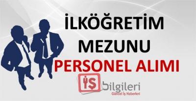 Türkiye Geneli Eleman Alımı