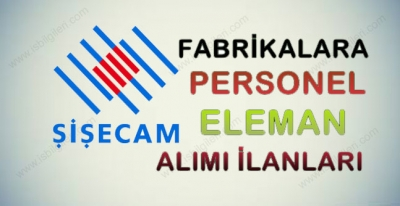 Türkiye Şişe Cam Fabrikası İş Başvuru Formu