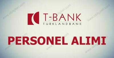 Turklandbank Personel Alımı 2017