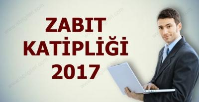 Zabıt Katipliği Sınavı Başvuruları Ne Zaman 2017
