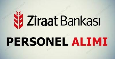 Ziraat Bankası Personel Alımı 2017